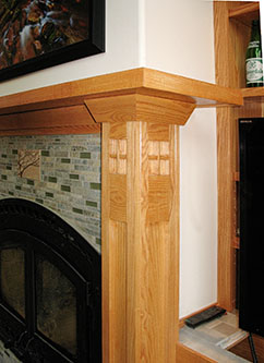 Round River Woodworking Mantels